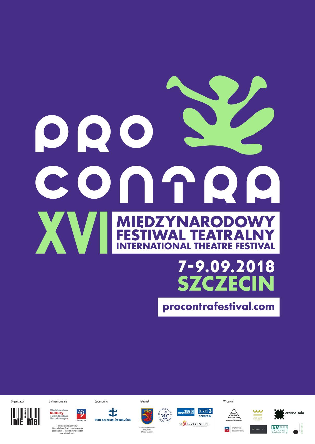 PRO CONTRA 2018 plakat