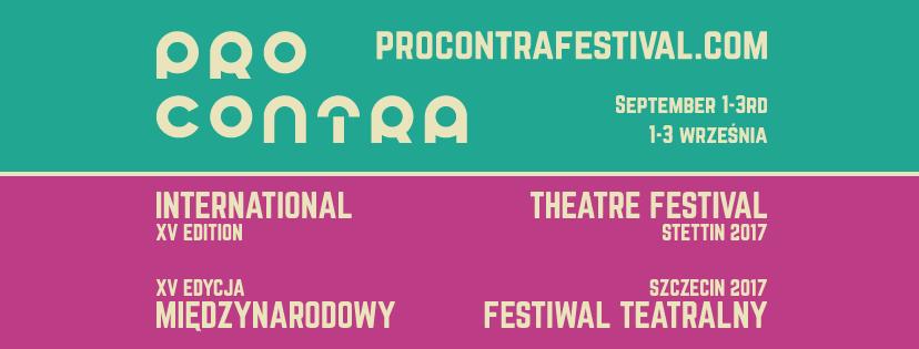 Festiwal PRO CONTRA 1-3 września 2017